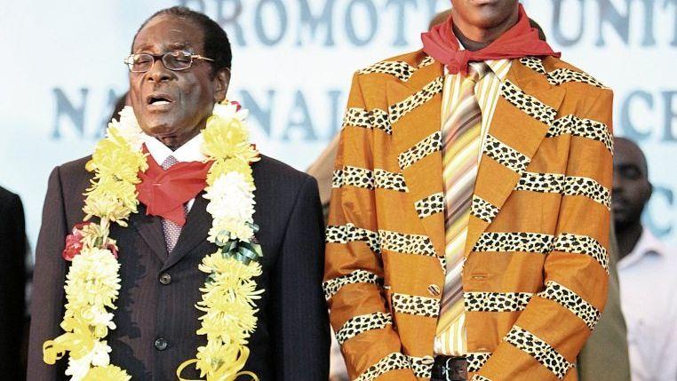Mugabe, Mugabe jr.