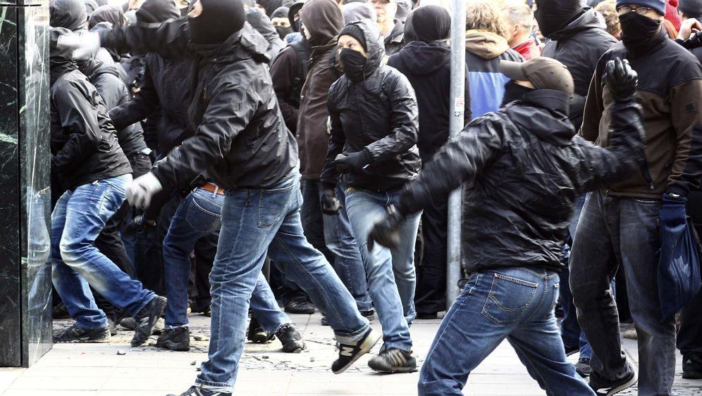 Anti-Kapitalismus-Demo: Randale in Frankfurt