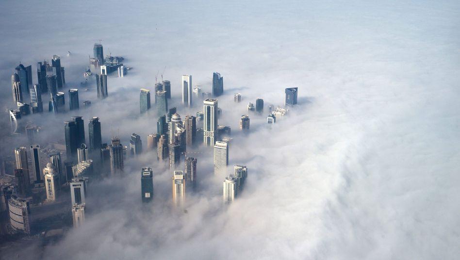 Skyline von Doha: Flucht bedeutet Abschiebung