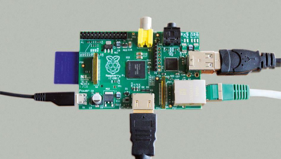 "Linux-PC Raspberry Pi: ""Auch ein komfortables Multimedia-Center"""