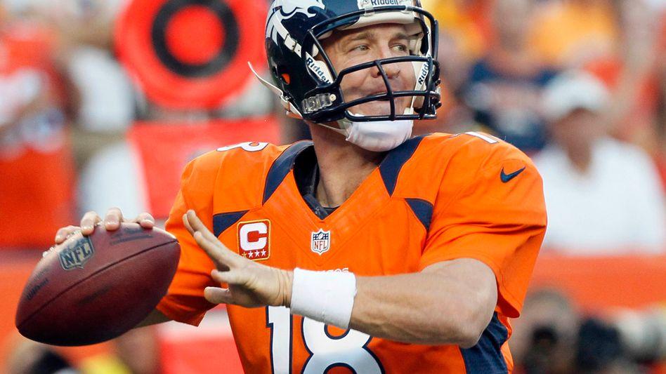 Broncos-Quarterback Manning: 400. Touchdown-Pass