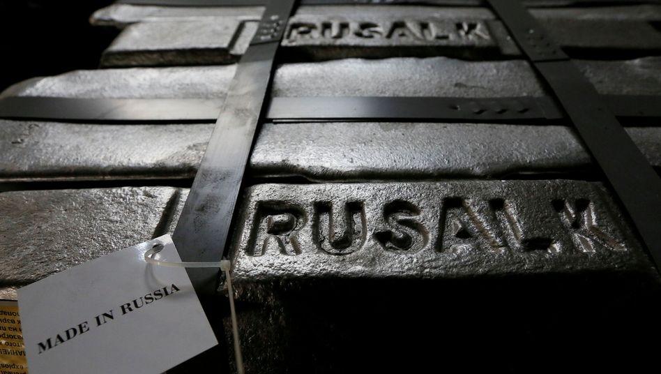 Rusal-Aluminiumproduktion