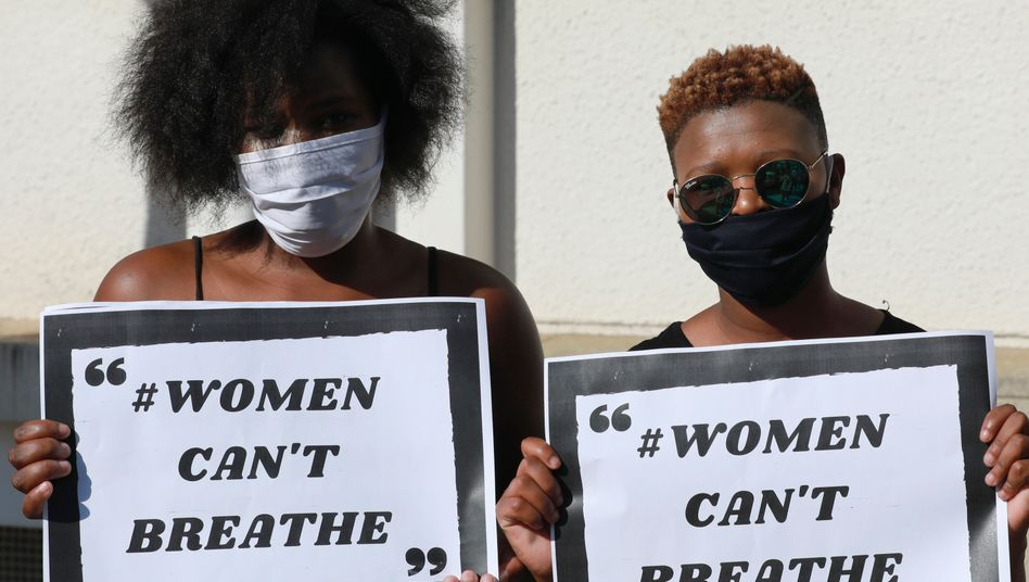 Demonstration am 19. Juni in Kapstadt