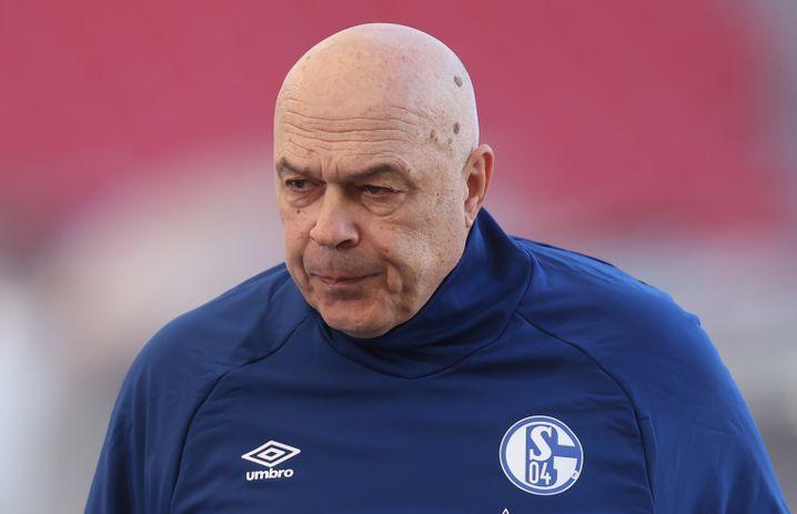 Er ist schon wieder Vergangenheit auf Schalke: Christian Gross musste als Trainer gehen