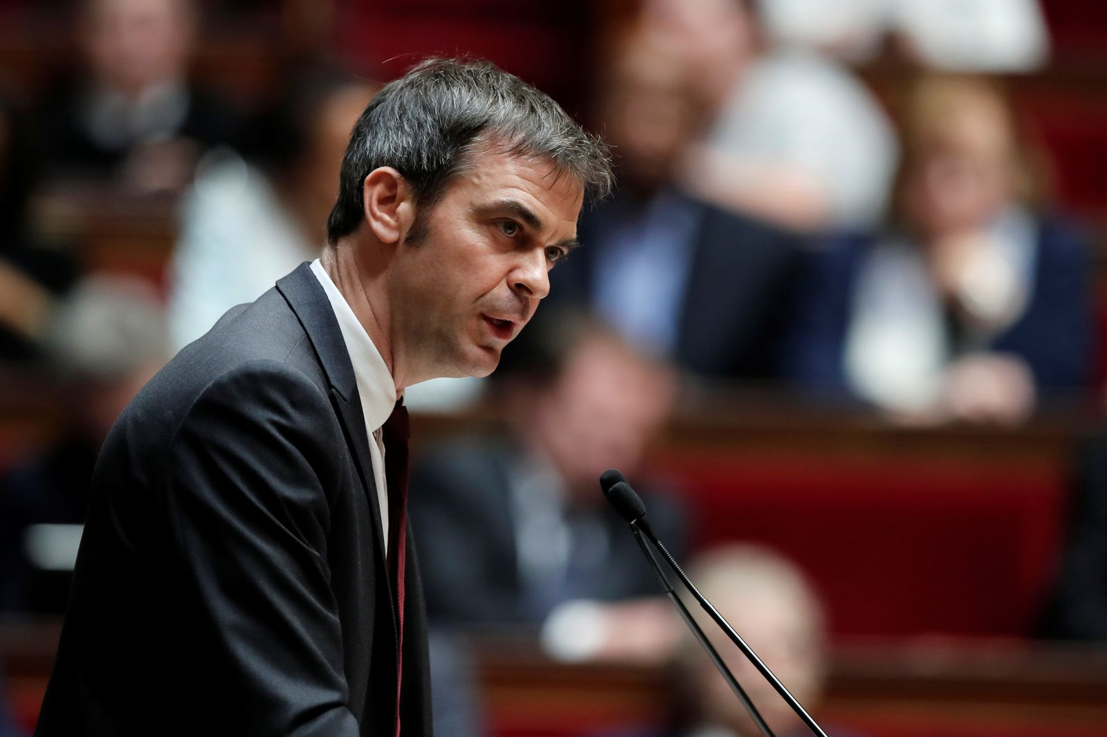 Opening debate on the French government's pensions reform bill at the National Assembly in Paris