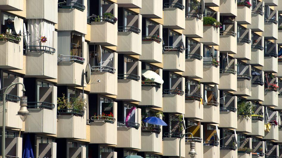 Plattenbau in Berlin (Archivbild)