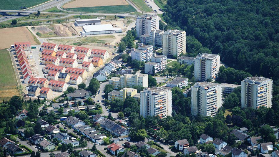 Neubaugebiet und Hochhäuser in Umkirch (Baden-Württemberg): Weiterer Preisanstieg