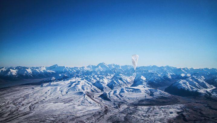 Project Loon: Internet aus dem Ballon von Google X