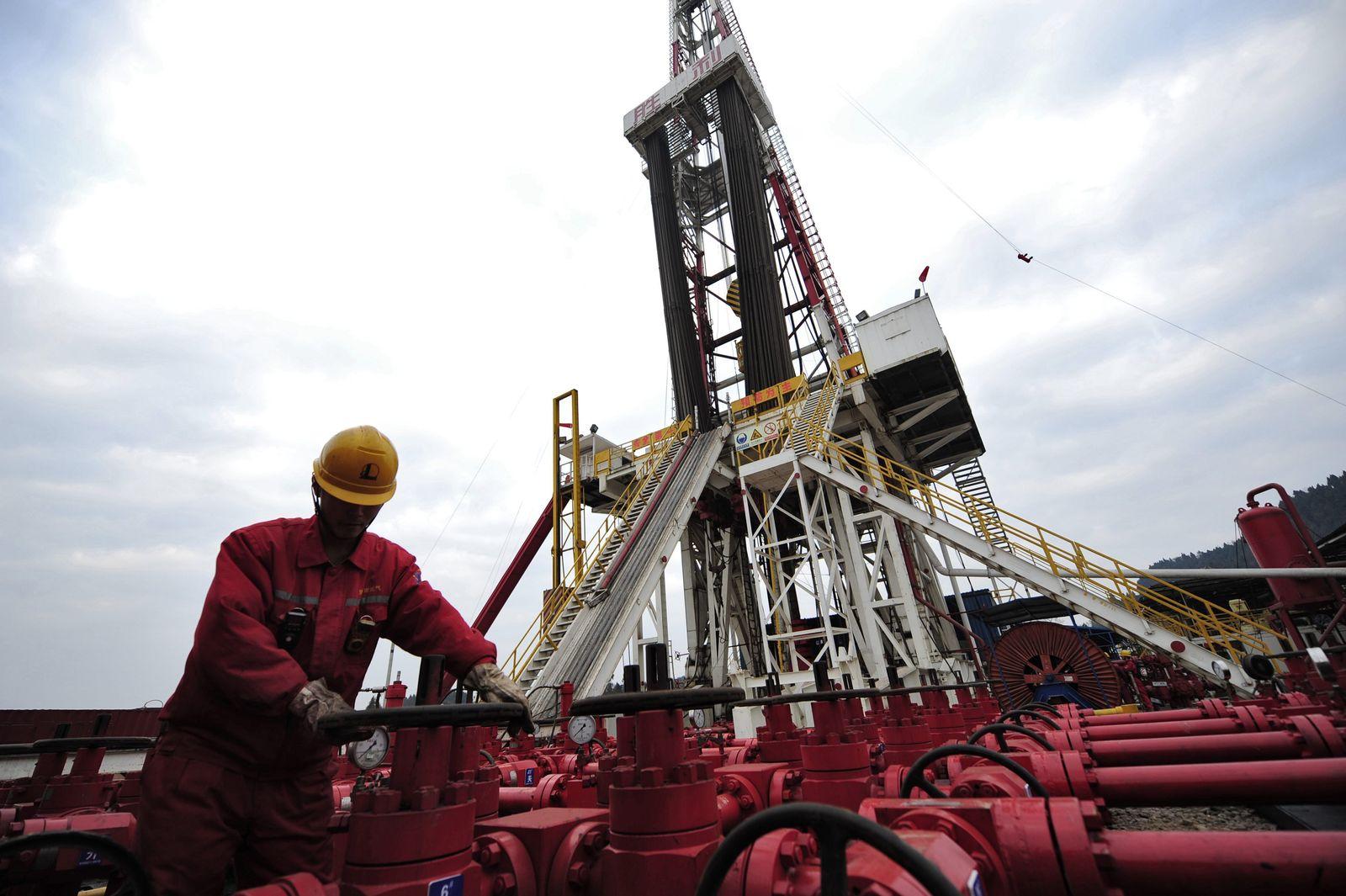 China / Konjunktur / Öl-Industrie / Gas-Industrie / Wirtschaft