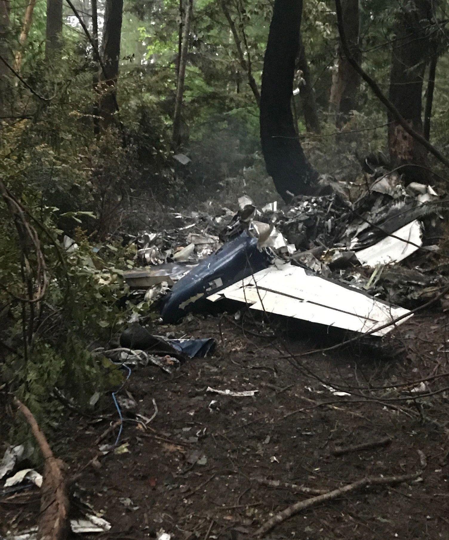 Gabriola Plane Crash