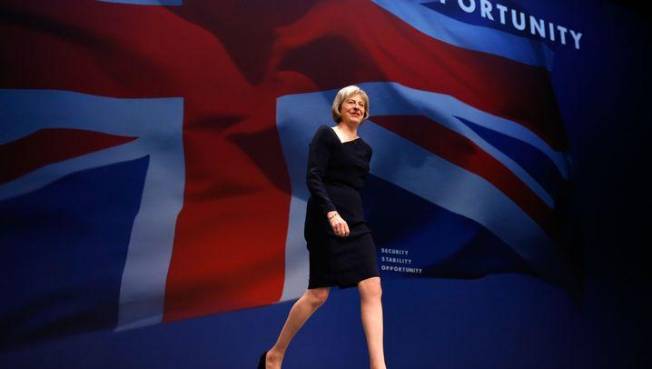 Theresa May: Mit Leoschuhen in die Fußstapfen von Cameron