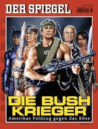 """SPIEGEL-Titel """"Die Bush-Krieger"""": Gerüstet für den Sturm auf Bagdad"""