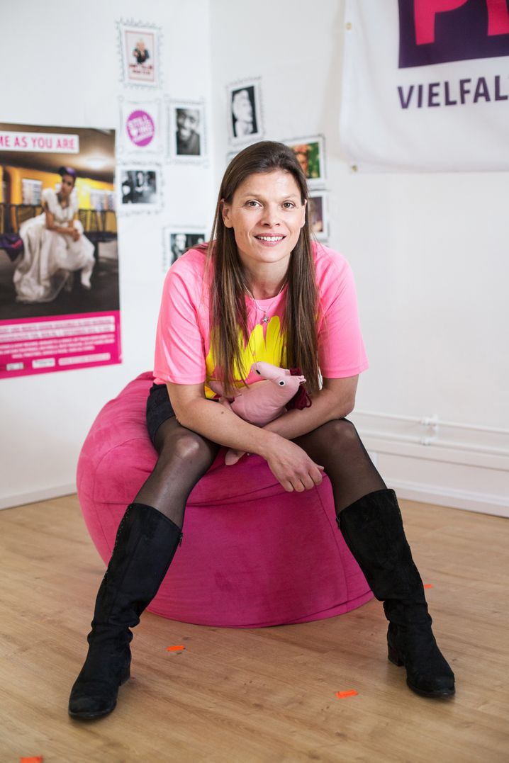 Aktivistin und pinkstinks-Gründerin Stevie Schmiedel