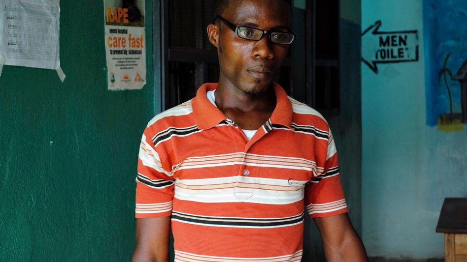 Romeo Doe aus Liberia: Der 29-Jährige hat Ebola überlebt, jetzt verschlechtern sich seine Augen