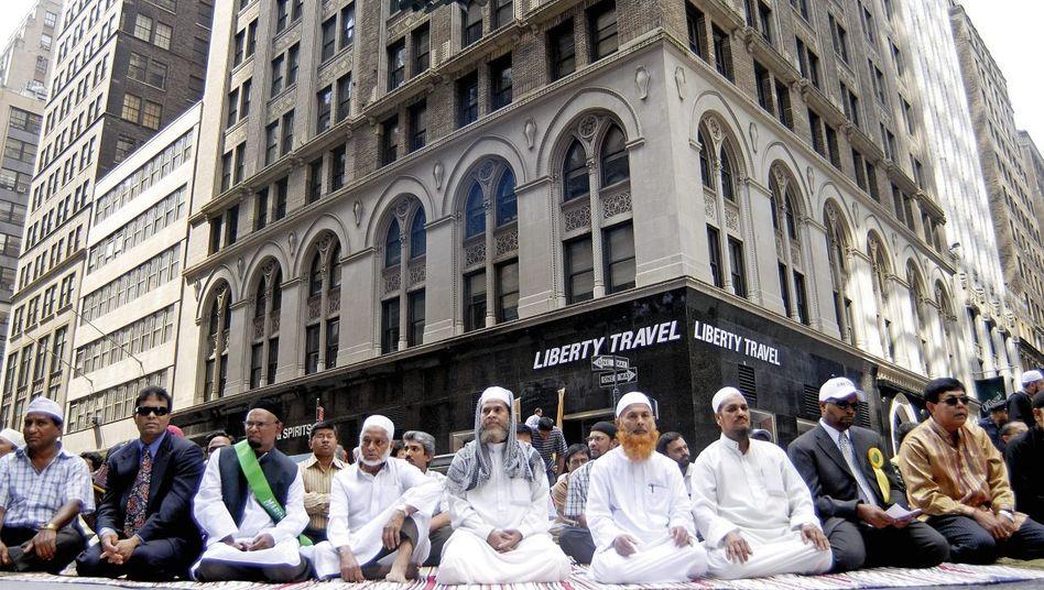 Gläubige auf der Muslim Day Parade in New York: Ausspioniert und bespitzelt