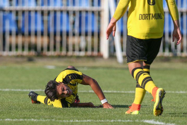 Borussia Dortmund Talent Dario Scuderi Ist Heute Nachwuchstrainer