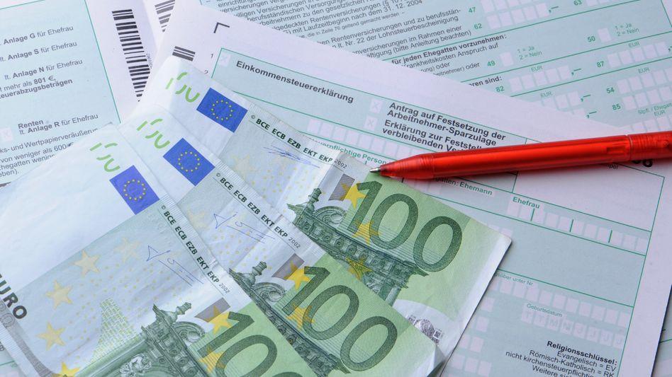 Einkommensteuer: Die bestverdienenden zehn Prozent zahlen gut die Hälfte der Steuern