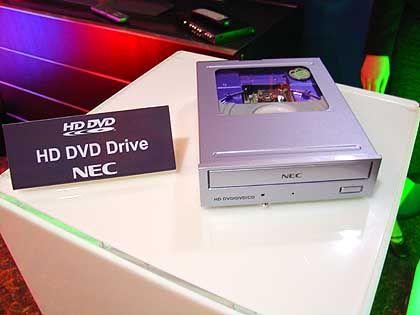 HD-DVD-Laufwerk von NEC: Droht ein Formatwirrwarr?