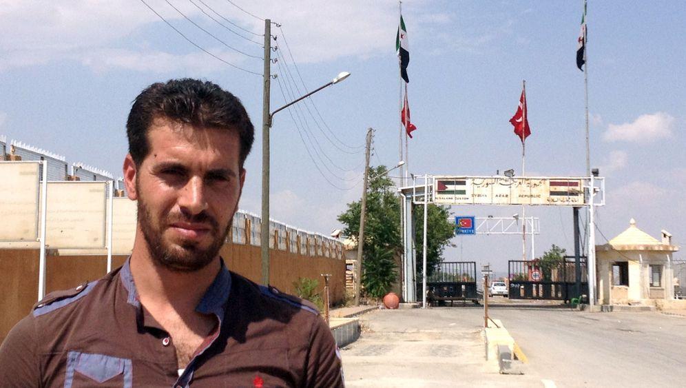 Aufstand gegen Diktator Assad: Der Grenzposten der Rebellen