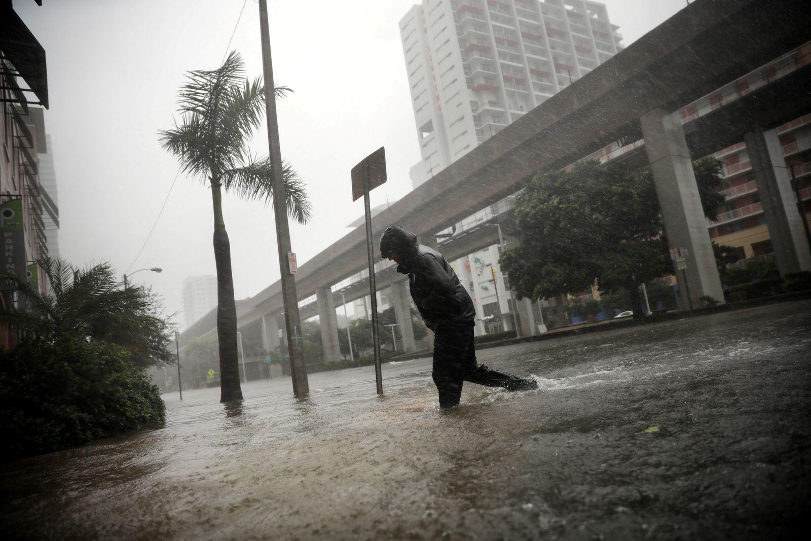 Überflutung / Irma / Miami