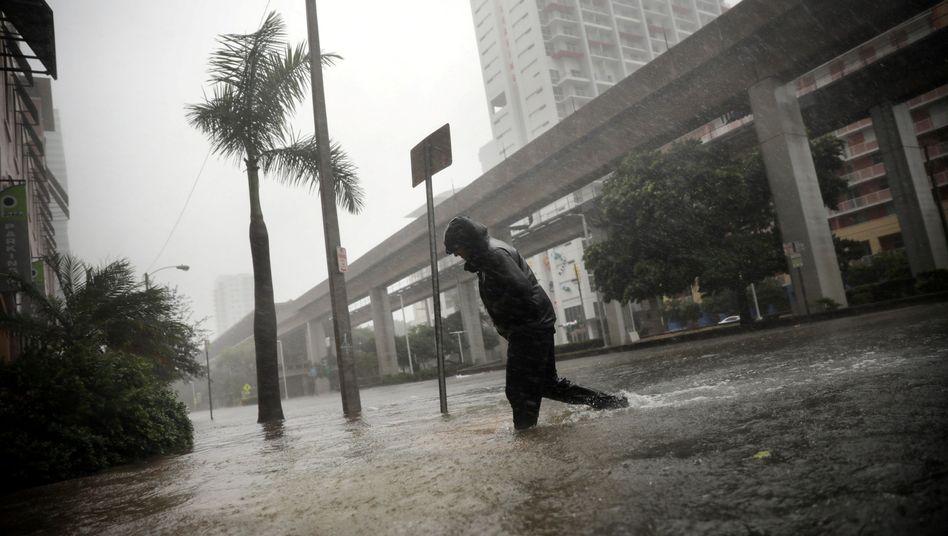 Hurrikan Irma wütet in Miami: Bislang ist die Fähigkeit von Staaten, mit dem Klimawandel umzugehen, sehr unterschiedlich