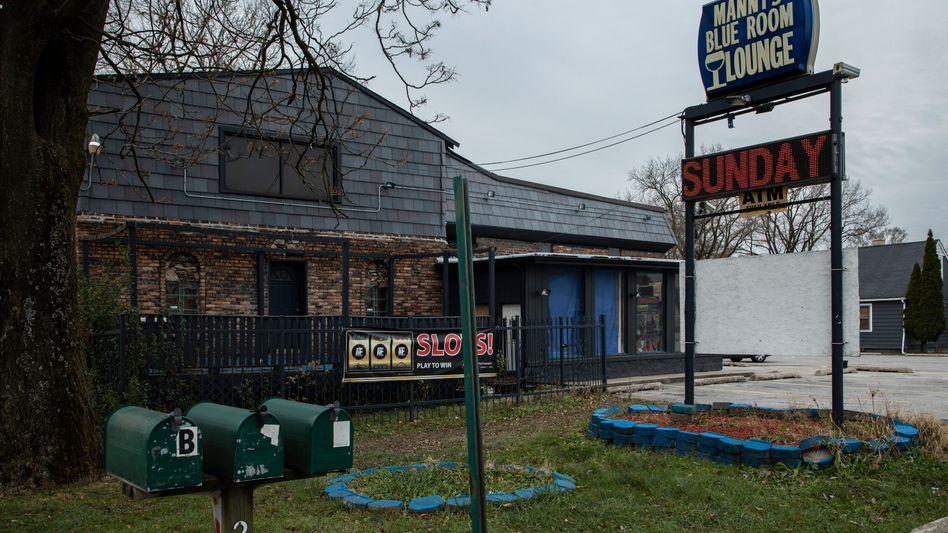 Bar in einem Vorort Chicagos