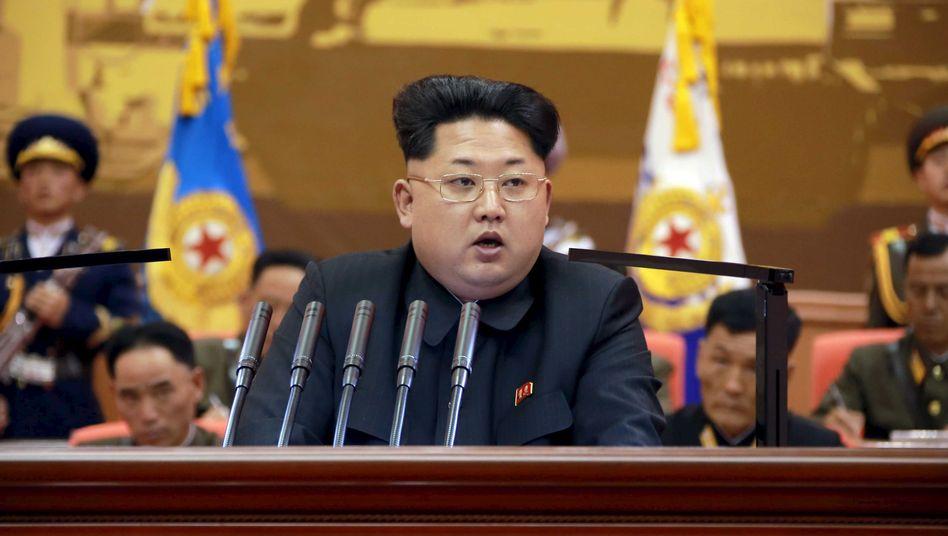 Kim Jong Un: Peking muss wohl ohne ihn feiern