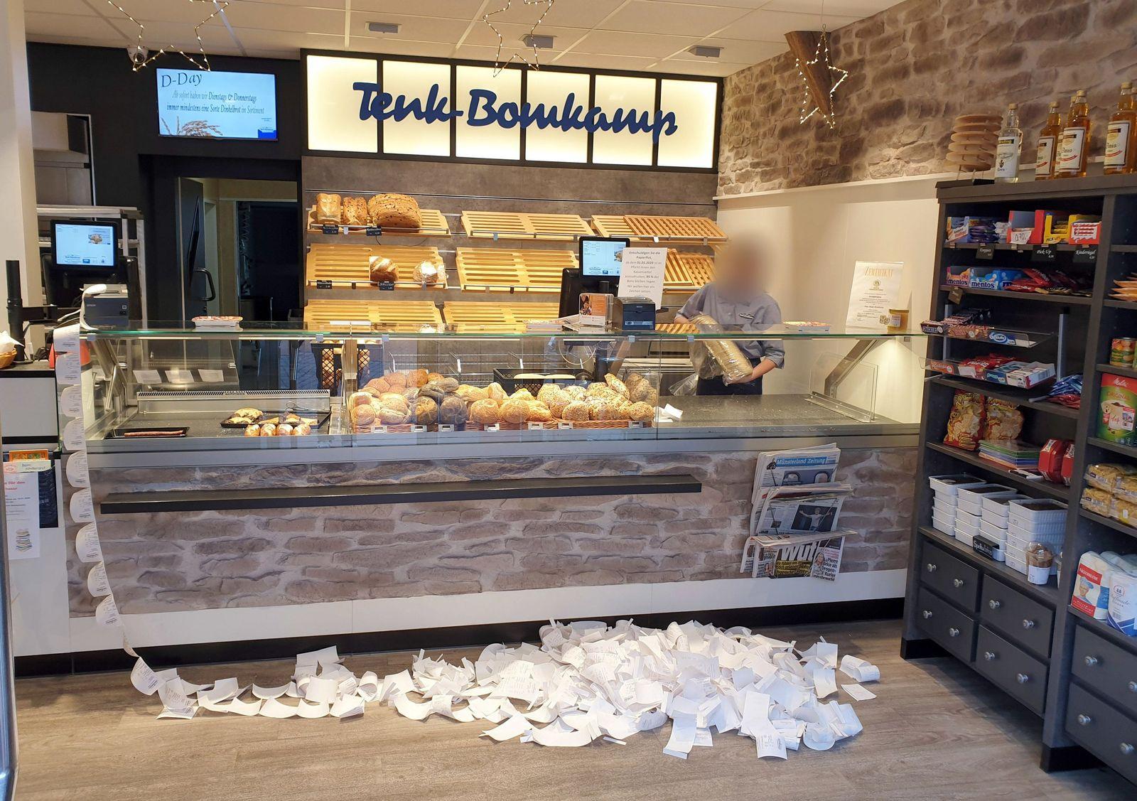 Kassenbonpflicht - Bäckerei