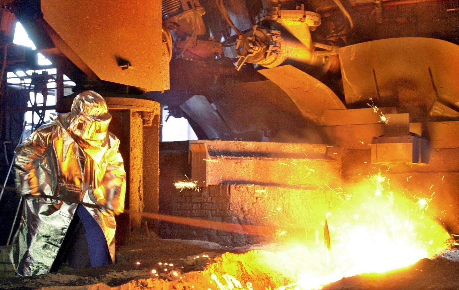 EKO-Stahlwerk Arcelor Stellenabbau