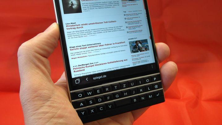 Blackberry Passport im Test: Das Quadrat-Smartphone