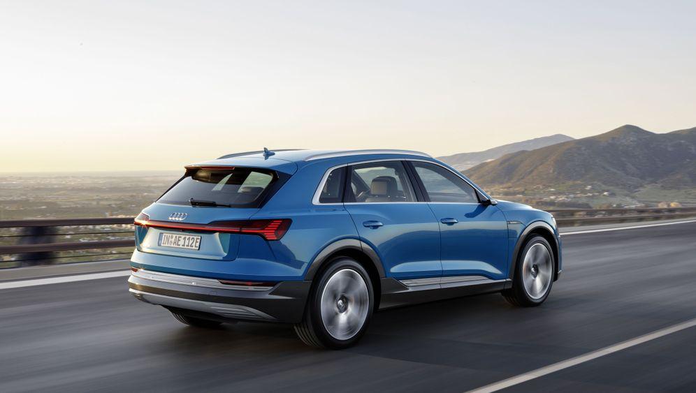 Audi e-tron: Die Spannung steigt
