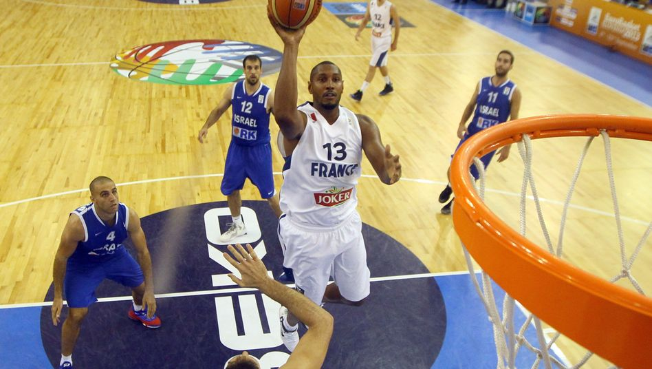 Basketball-Profi Diaw: Europameister mit Frankreich 2013
