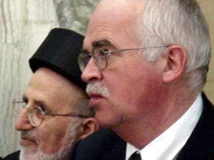 CSU-Politiker Gauweiler im Irak, Frühjahr 2003: Im Clinch mit Pflüger