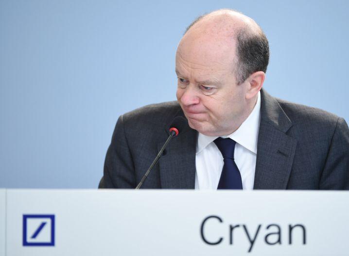 Deutsche-Bank-Chef Cryan: Ein schwerer Job