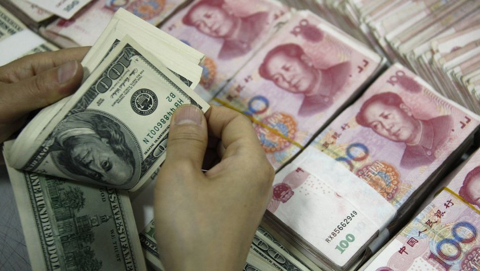 Devisengeschäfte: Chinas Zentralbank unterstützt Exportwirtschaft