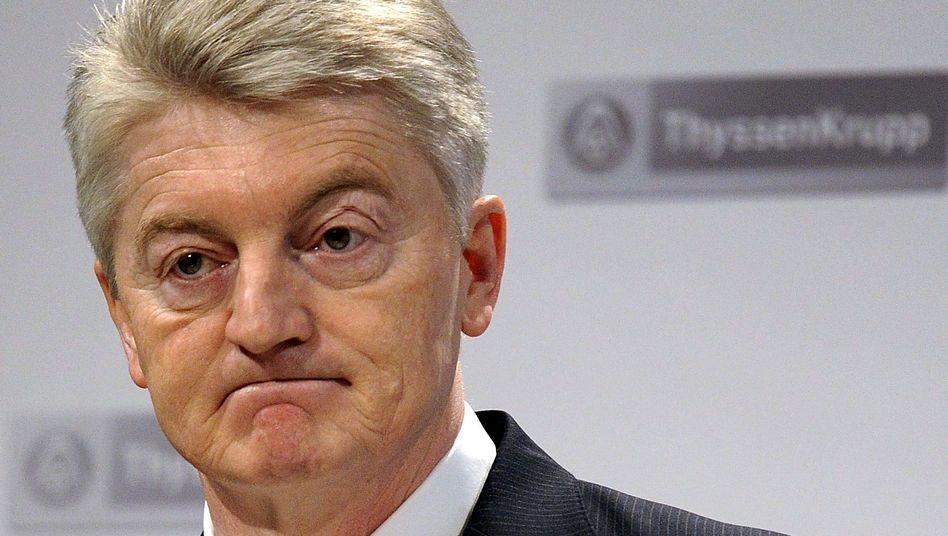 ThyssenKrupp-Chef Hiesinger: Nur jeder Fünfte kennt den Top-Manager