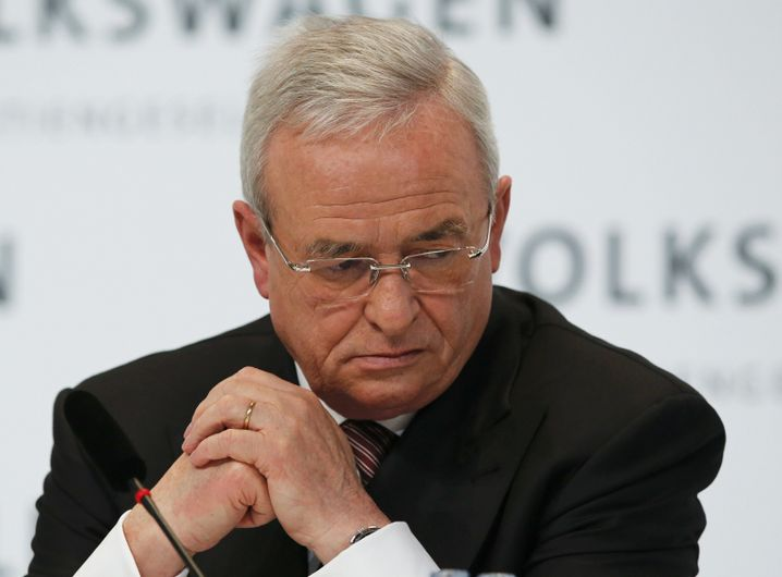Volkswagen CEO Martin Winterkorn: More hurt than he had been in some time.