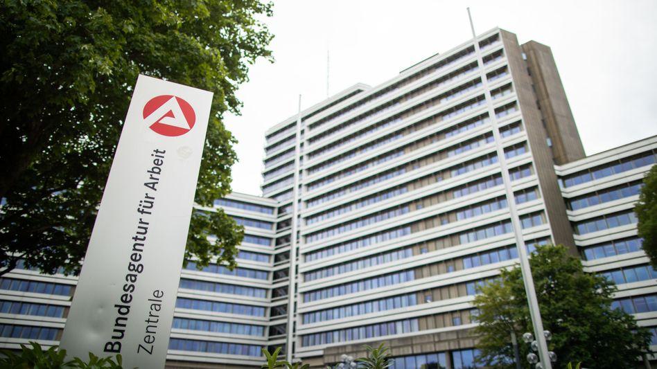 Nürnberger Zentrale der Bundesagentur für Arbeit