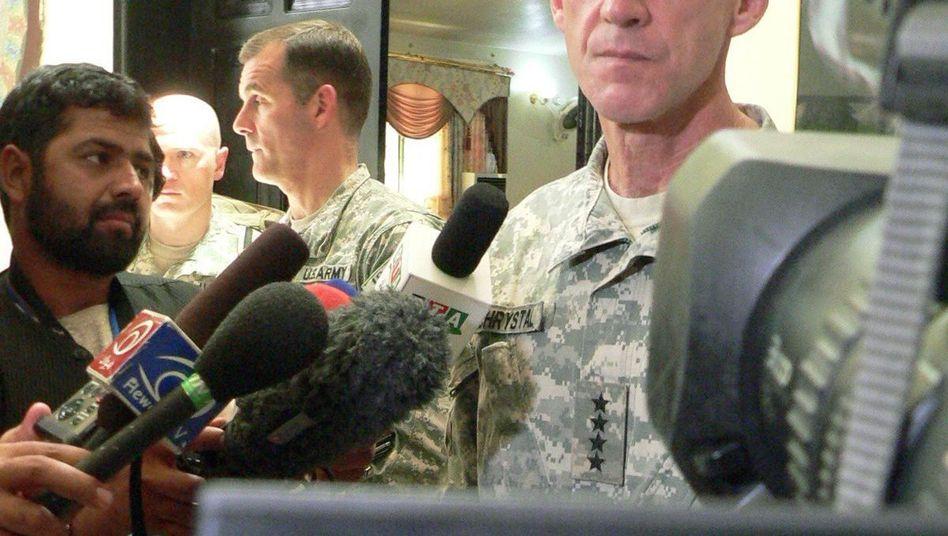 """US-General McChrystal: """"Weicheier im Weißen Haus"""""""