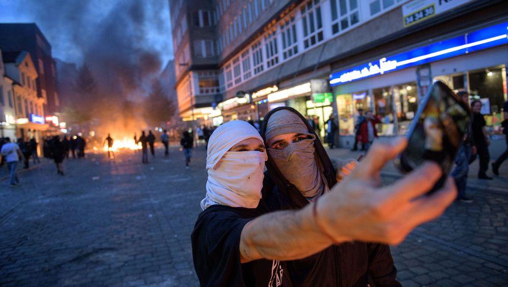 G20-Krawalle: Die große Gewaltshow