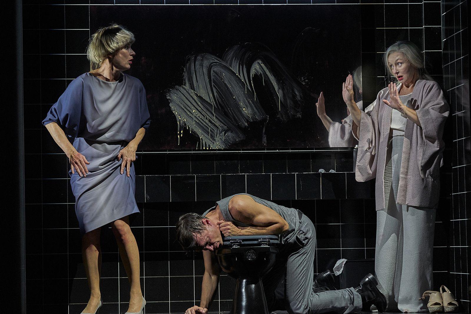 EINMALIGE VERWENDUNG Theater / The Party / Burgtheater