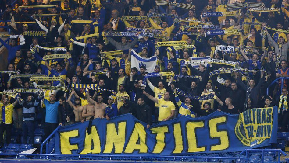 Fans von Maccabi Tel Aviv: Mit Nazis verglichen