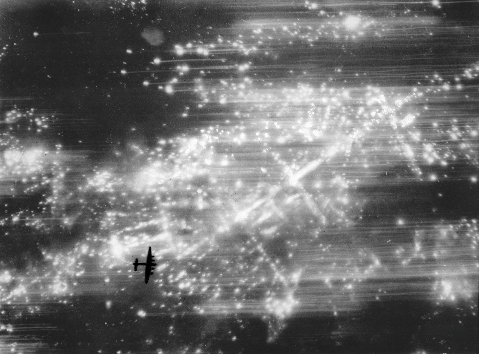 Hamburg World War Two 31 October 1943.