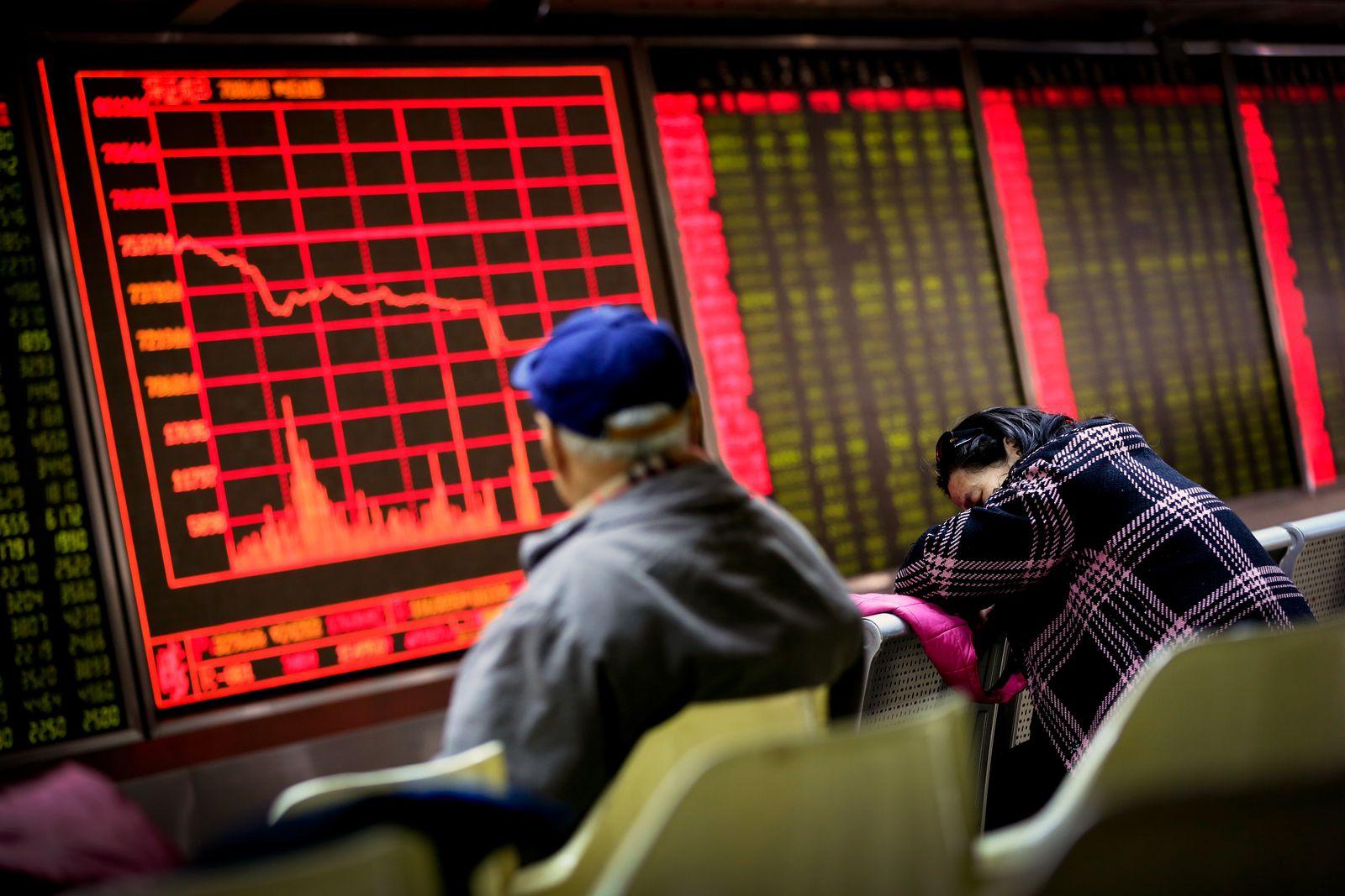 China Börse / Wirtschaft / Finanz-Markt