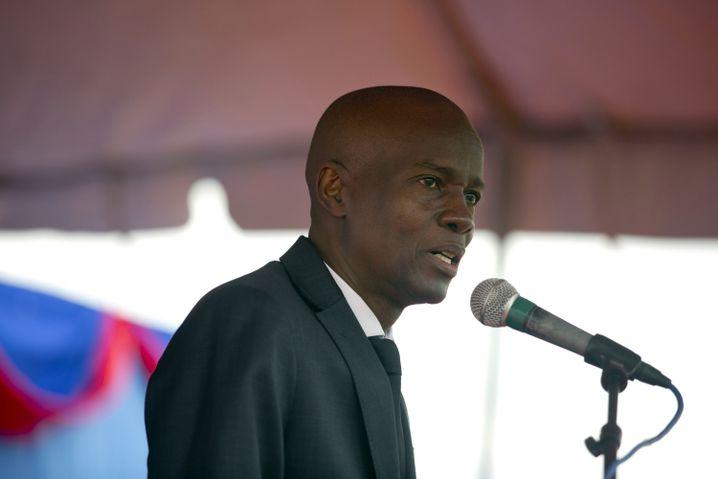 Haitis Staatschef Jovonel Moïse