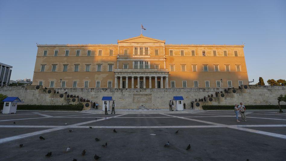 Krisengipfel in Brüssel: Euroländer einigen sich mit Griechenland