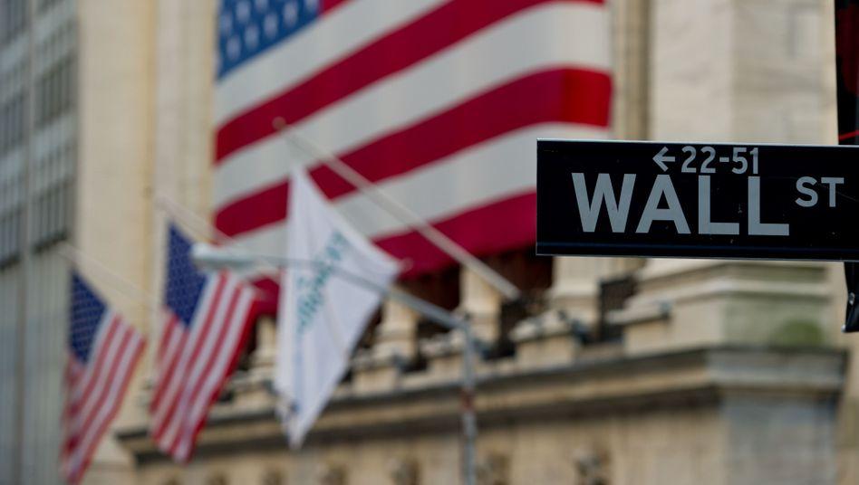 Wall Street in New York: Preisbildung bei Hypotheken-Deals im Fokus