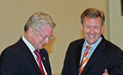 """Anden-Pakt-Brüder Koch und Wulff: """"Mehr Ambiente in der Politik"""""""