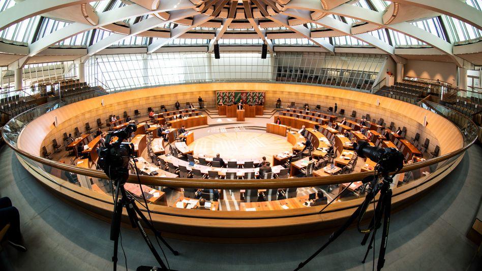 Landtag in NRW (Archivbild)