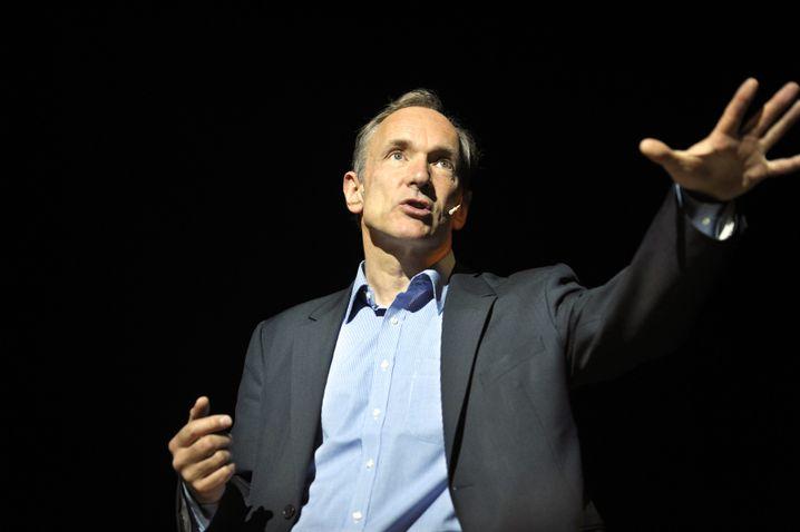 Sir Tim Berners-Lee, der Erfinder des World Wide Web (Archivbild)
